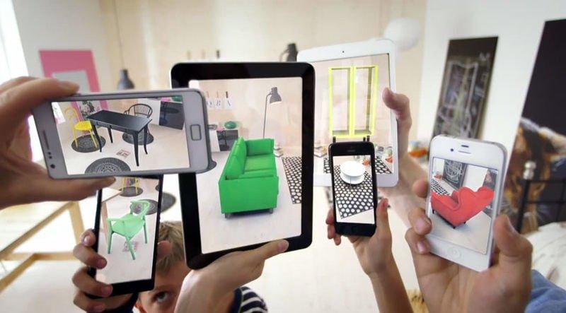 Augmented-reality Ikea